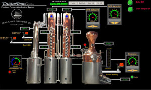 Automated temp control distillery
